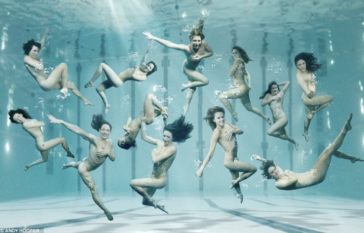 "➰ 🌹 ➰ Twelve British lady swimmers (normal and synchronized), divers and water-polo players skinny-dipped for a photo shoot ""sponsored by the National Lottery and British Gas [which] is supporting more than 1,200 athletes for 2012, as well as contributing up to £2.2 billion to the Olympic venues."" Seems as if the seaweed is always greener in somebody else's lake."