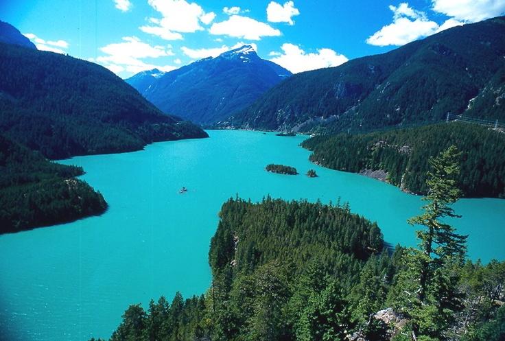 Diablo Lake, Washington State - beautiful
