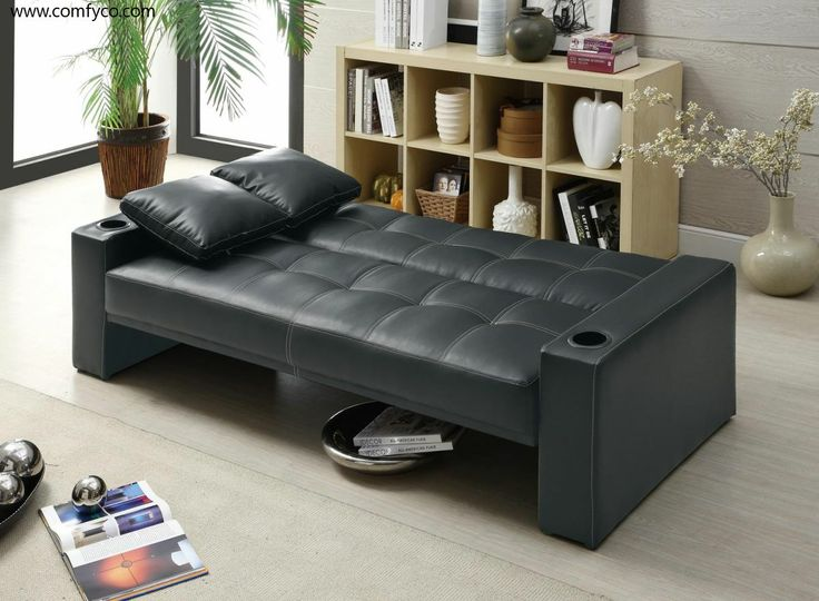 Contemporary Casual Elegance Daybed | CS0125 300125 Modern Sofa Bed :  Coaster Furniture : Sleepers,