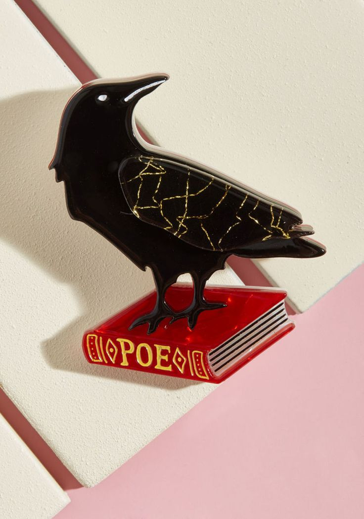 Erstwilder Nevermore Resin Pin