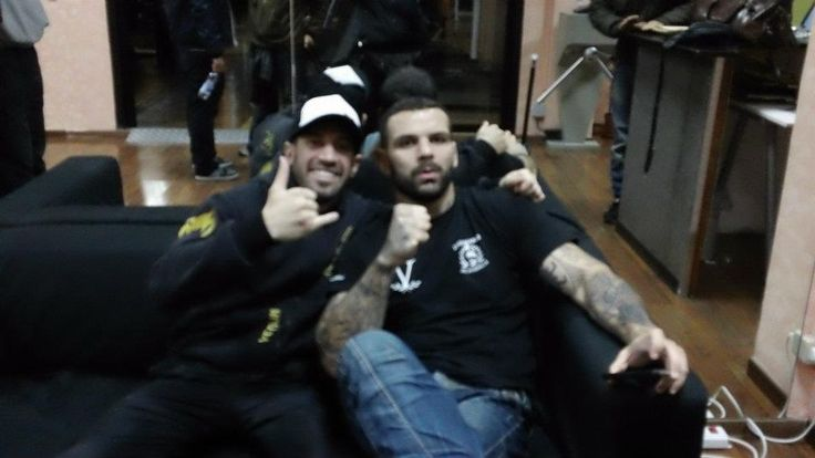 M.M.A. Instructors Course With Alessio Sakara Ufc Fighter, Rome 2010