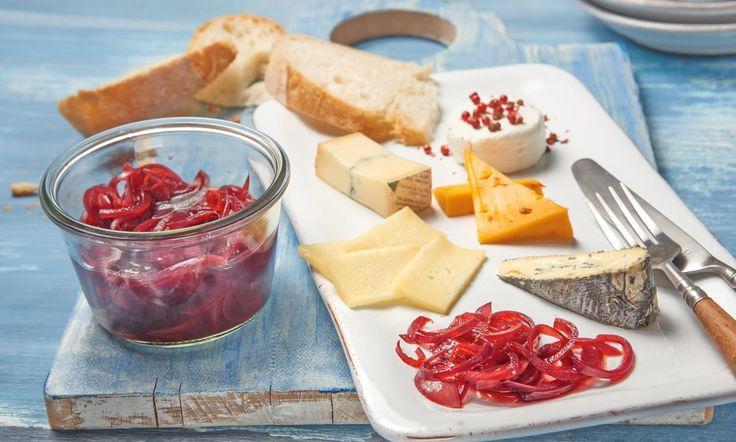 Eingelegte rote Zwiebeln in Portwein Rezept | Dr. Oetker