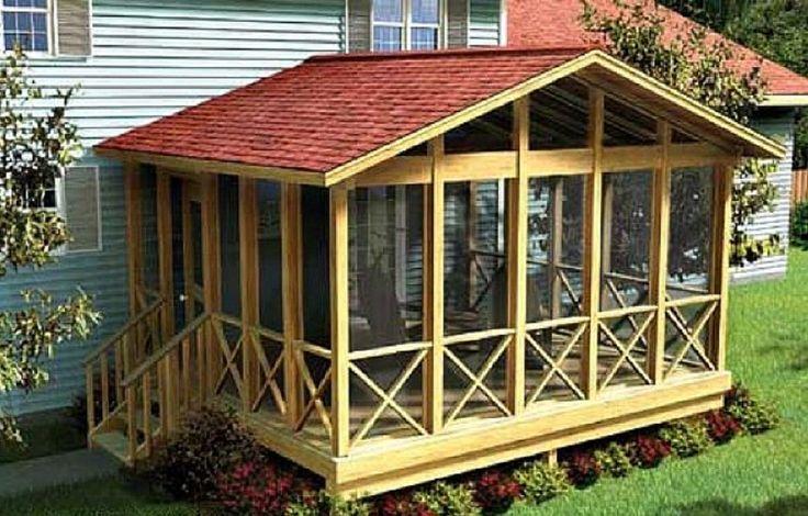 Creative Screened Porch Plans ~ http://lanewstalk.com/the-screened-in-porch-design-ideas-to-create-custom-porch/
