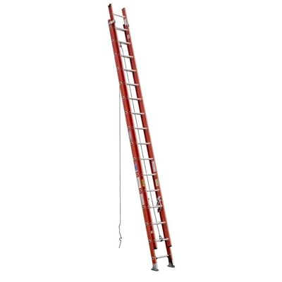 For projects in hard-to-reach locations, try using the Werner 32 ft. Fiberglass Extension Ladder. The fiberglass-framed ladder with aluminum rungs extends up to 32 ft., allowing you to paint the upper part of your house, clean second story windows or clean gutters, for example. The ladder is weather resistant for long-lasting use. Tread D traction provides slip-free and comfortable standing. $479 www.cardinalsellingservices.com