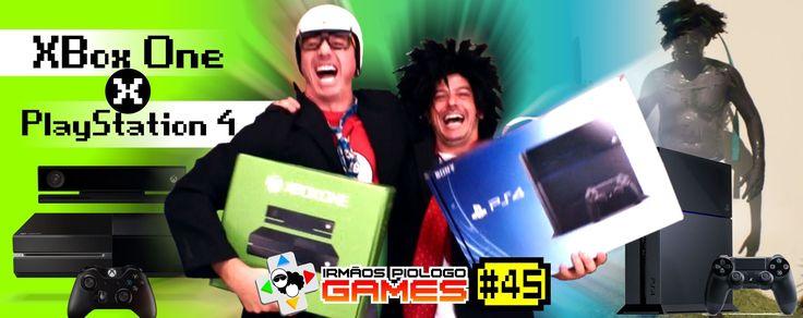 Irmãos Piologo Games 45 - XBox One X PlayStation 4