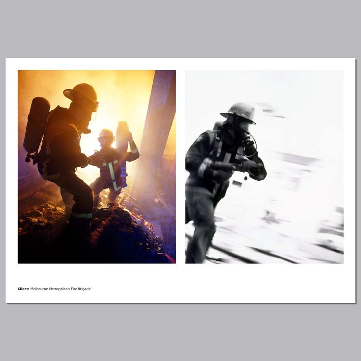 Client - Melbourne Metropolitan Fire Brigade, Annual Report, Melbourne Australia