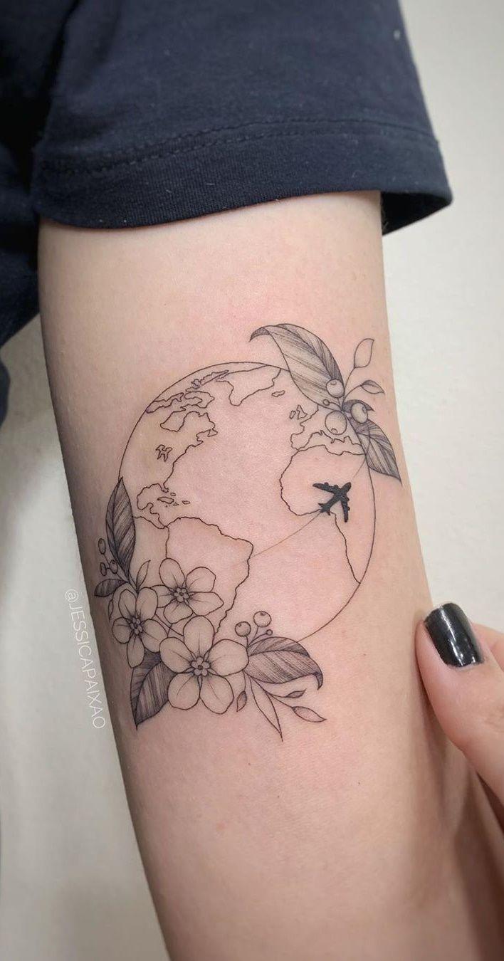 As 50 Melhores Tatuagens Femininas e delicadas – Fotos e Tatuagens