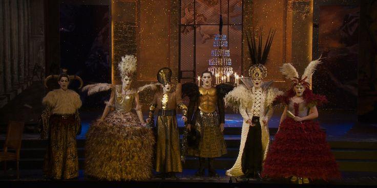 Franco Fagioli (countertenor, b. 1981) as Arbace, Valer Barna-Sabadus (countertenor, b. 1986) as Semira, Yuriy Mynenko (countertenor, b. 1979) as Megabise, Philippe Jaroussky (countertenor, b. 1978) as Artaserse, Max Emanuel Cencic (countertenor, b. 1976) as Mandane & Juan Sancho (tenor, b. 1982) as Artabano in Vinci's Artaserse (Nancy 2012)
