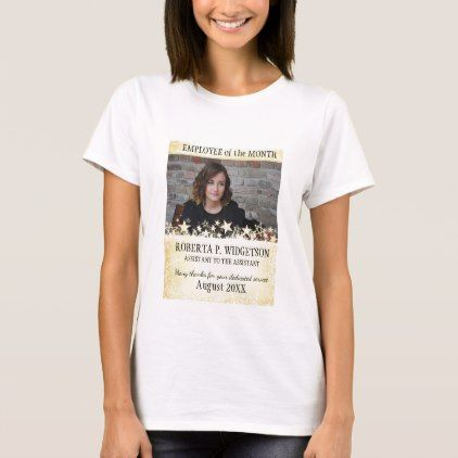 #photo - #Photo employee of the month ROCK STAR GOLD T-Shirt