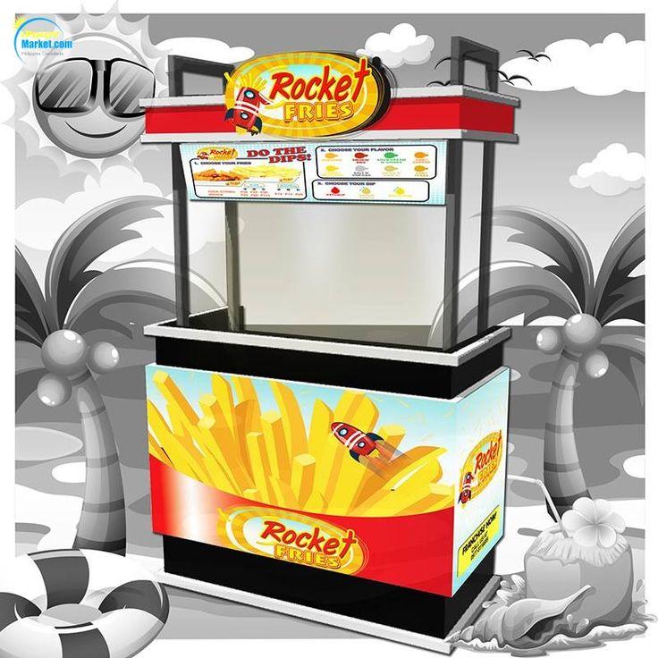 Food Cart Franchise French Fries iPinoyMarket 100
