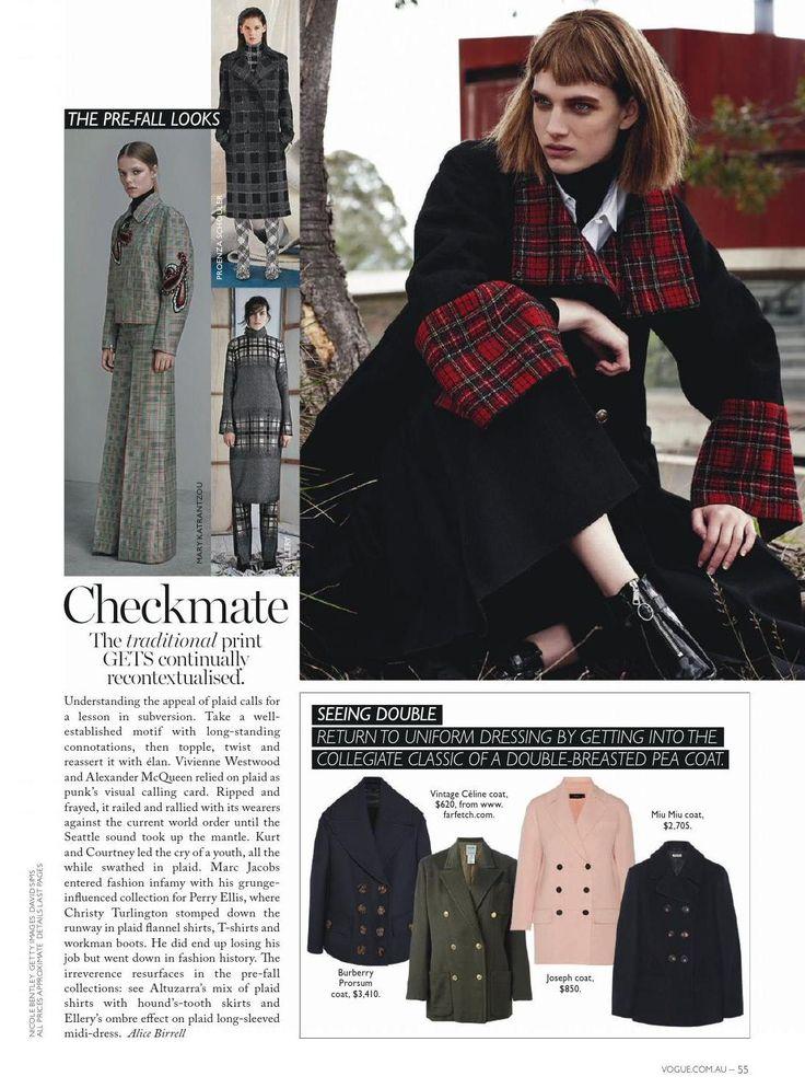 #ClippedOnIssuu from Vogue australia june 2015