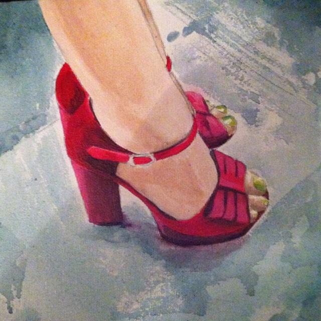 Fierce feet