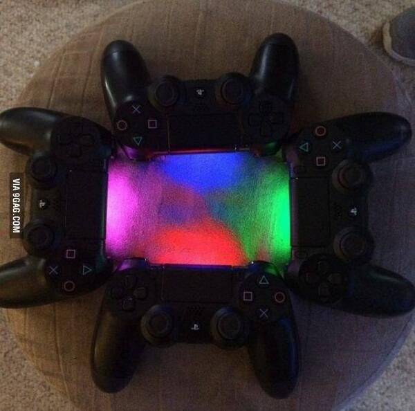 how to change ps4 controller light colour