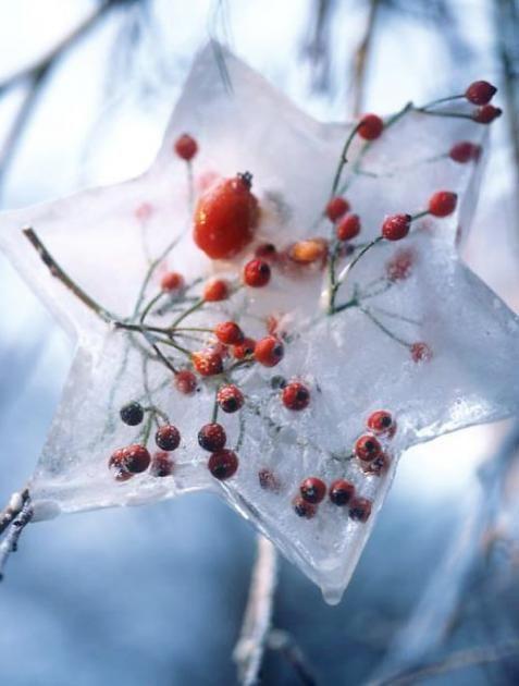 So lassen sich mit wenig Aufwand märchenhaft schöne Eislaternen und andere Eisdeko herstellen.