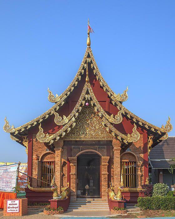 2013 Photograph, Wat Yang Kuang Phra Wihan, Tambon Haiya, Mueang Chiang Mai District, Chiang Mai Province, Thailand, © 2014.  ภาพถ่าย ๒๕๕๖ วัดยางกวง พระวิหาร ตำบลหายยา เมืองเชียงใหม่ จังหวัดเชียงใหม่ ประเทศไทย