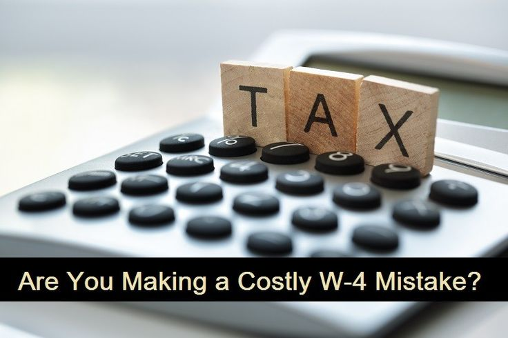 Are You Making a Costly W-4 Mistake? - Debt Free Guys