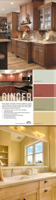 1000 ideas about maple flooring on pinterest hardwood for Bleached maple kitchen cabinets