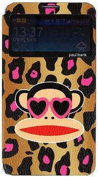 For Samsung Paul Frank Animal PinkBrown
