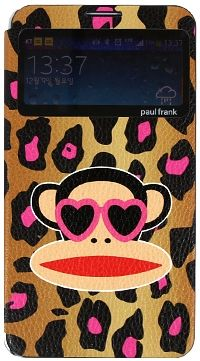 For Samsung Paul Frank Animal PinkBrown