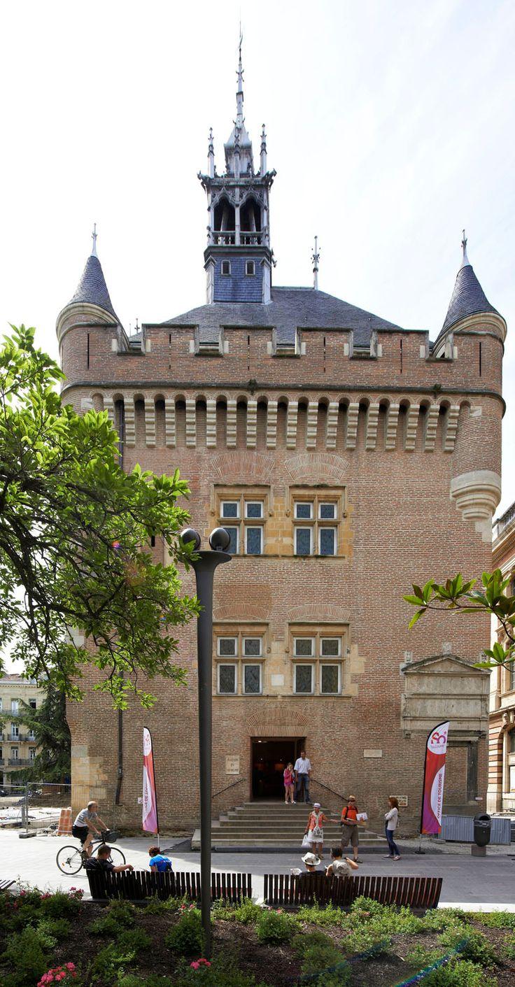 Découvrez le Donjon de l'office de tourisme de Toulouse, tour remarquable. © D. Viet #visiteztoulouse #toulouse #touristboard