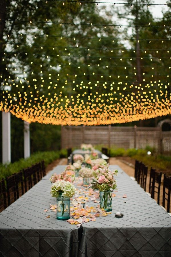 diy outdoor wedding lighting. Lights Is An Important Thing For Wedding Decor Because They Create A Mood And Atmosphere: Diy Outdoor Lighting