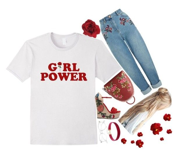 ❃;; Mom jeans are cool beans by emma-love23 on Polyvore featuring polyvore, fashion, style, Miss Selfridge, Gucci, MANGO, clothing and 23lovesets