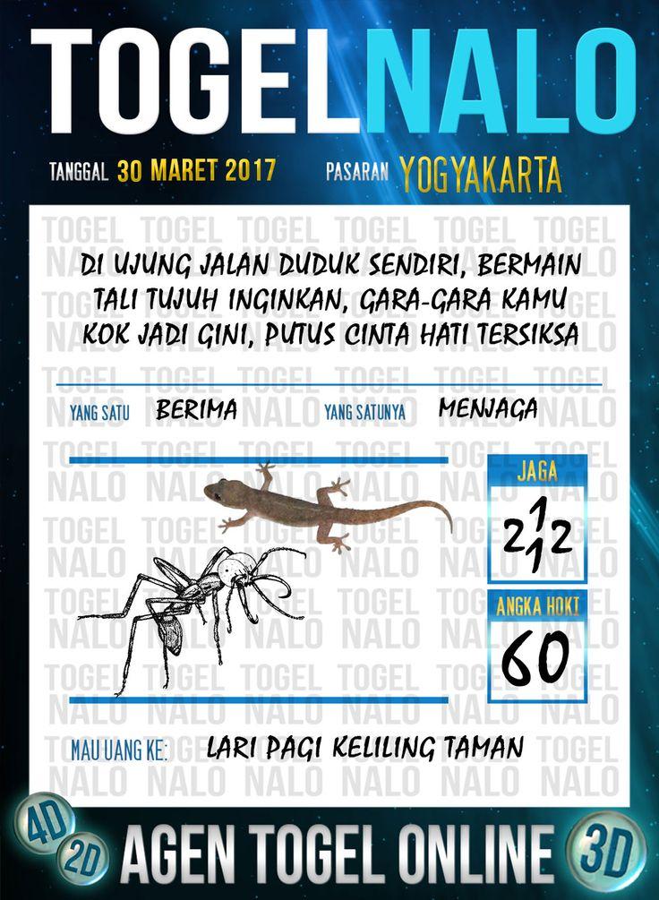 Kode Wangsit 2D Togel Wap Online TogelNalo Yogyakarta 30 Maret 2017