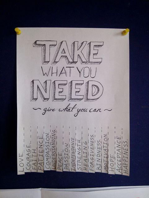 Random Act of Kindness 3 by WillCookForFriends, via Flickr