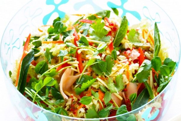 Whip up this simple, fresh and fun crunchy Asian summer-inspired salad to impress.