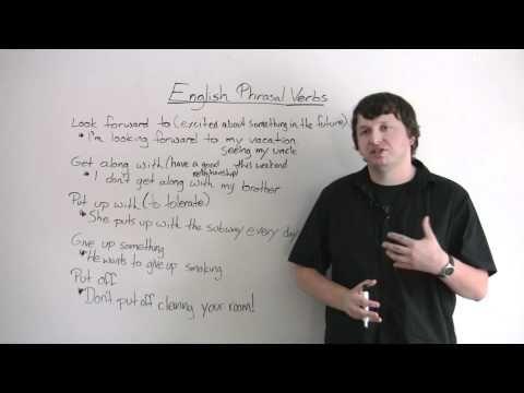 Videos para aprender los Phrasal Verbs   Soy estudiante: becas, aprender inglés y buscar trabajo