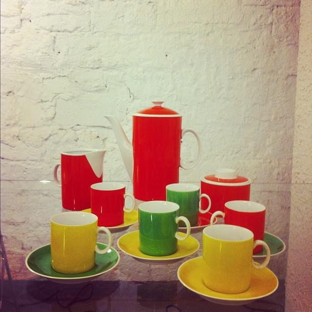 Oldchool coffee set from  the 70's . Product by Karolina, Jaworzyna Śląska/POLAND  #design #poland #polska #vintage