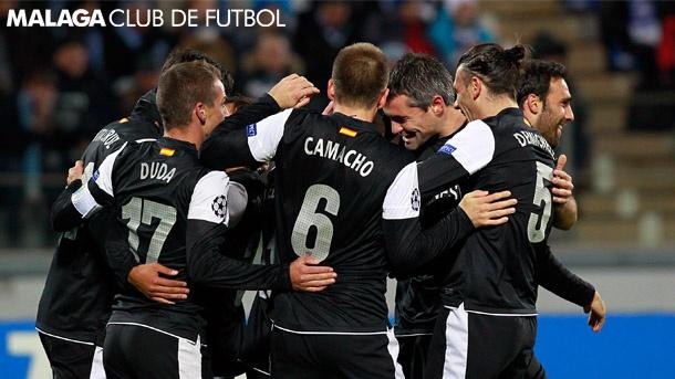 J5 UEFA Champions League: FC Zenit, 2 - Málaga CF, 2