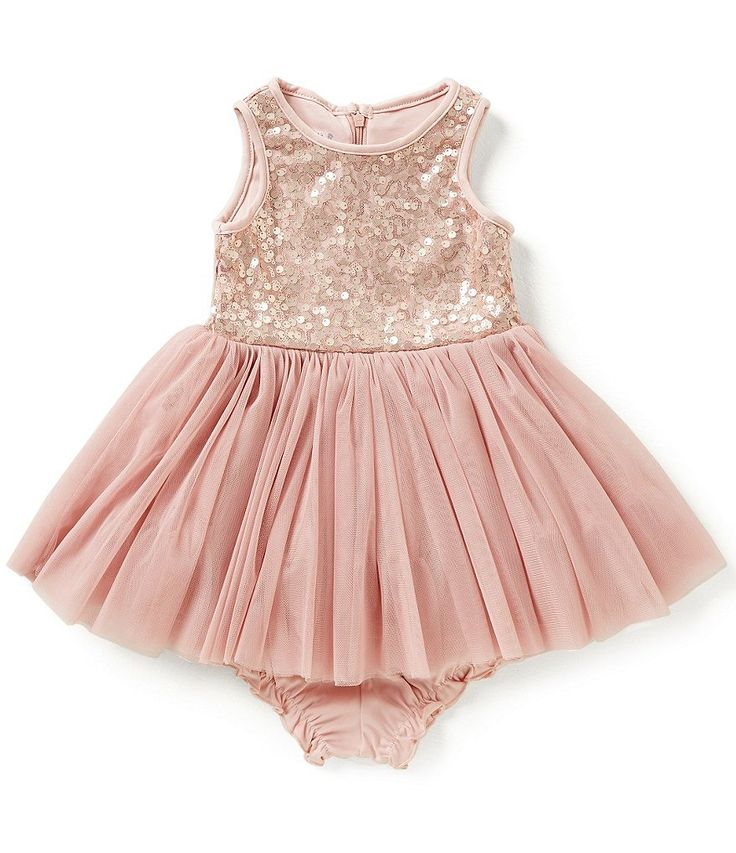 Pippa & Julie Baby Girls 12-24 Months Sequin Tulle Dress