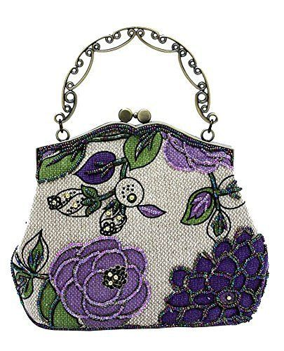 New Trending Clutch Bags: ILISHOP Womens Vintage Luxury Printing Beaded Women Handbag Evening Bag (Purple). ILISHOP Women's Vintage Luxury Printing Beaded Women Handbag Evening Bag (Purple)   Special Offer: $21.99      233 Reviews The Linen Evening Bag with Rosettes is an elegant yet economically priced purse to accessorize your look for a night on the town. Our exquisite clutch has a top...