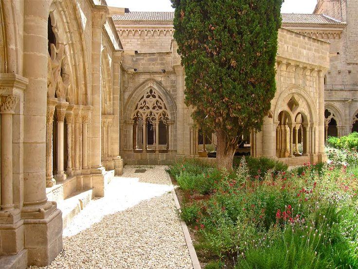 Monasterio de Poblet. Tarragona. ~  Vall del Monestir de Poblet, Tarragona, Spain