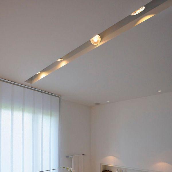 Schienenstrahler Fur 1 Phasen Stromschiene Puri Gu10 Qpar51 Mit Adapt Slv 0143392 Beleuchtung Strahler Wohnzimmer Leuchte