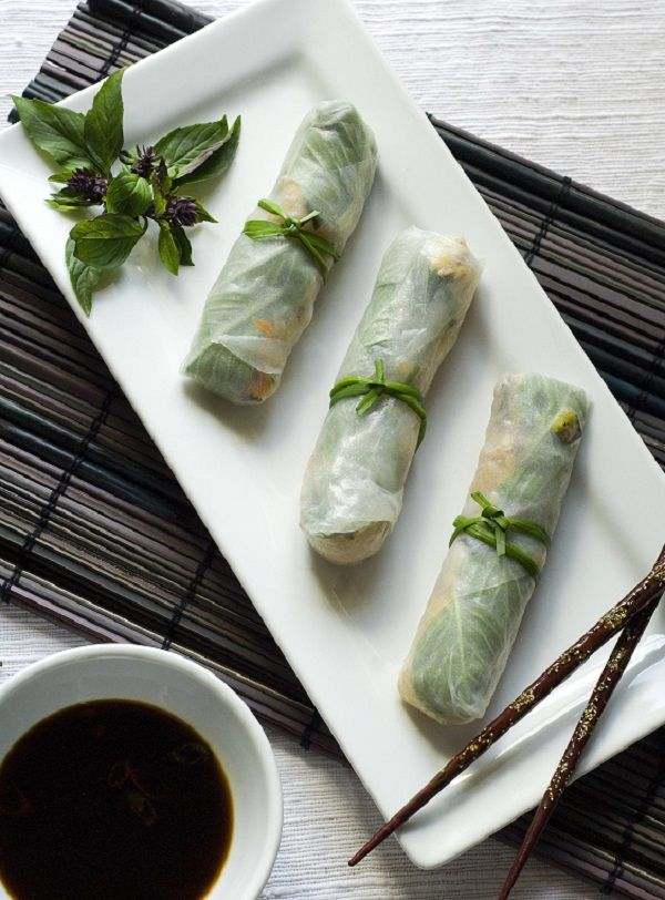 Recipe for Gluten Free Spring Rolls
