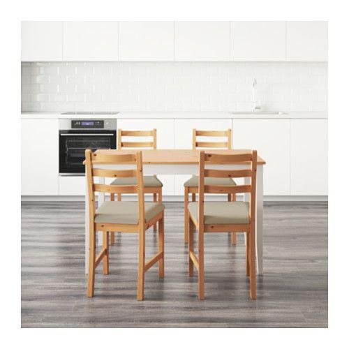 LERHAMN テーブル&チェア4脚  - IKEA