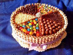 tortas con golosinas - Buscar con Google