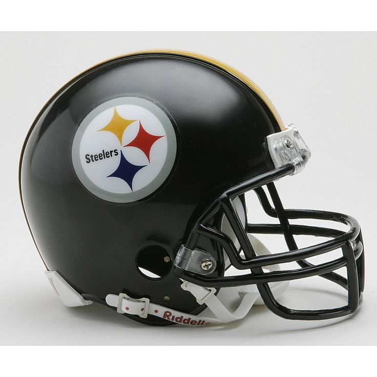 Riddell Pittsburgh Steelers Replica Mini Helmet with Z2B Mask