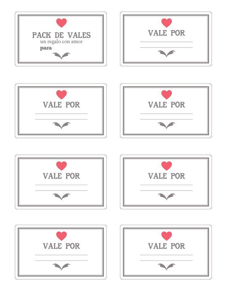 Para un regalo muy especial y hecho a mano, nuestros vales de amor para San Valentín serían el mejor detalle para tu pareja amada. Mira aquí cómo hacerlos.
