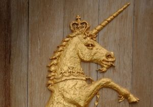 The official animal of Scotland is the Unicorn. A fictitious creature may seem an odd choice for a country's national animal, but perhaps not for a country famed for its love for and long history of myth and legend, and the unicorn has been a Scottish heraldic symbol since the 12th century, when it was used on an early form of the Scottish coat of arms by William I.