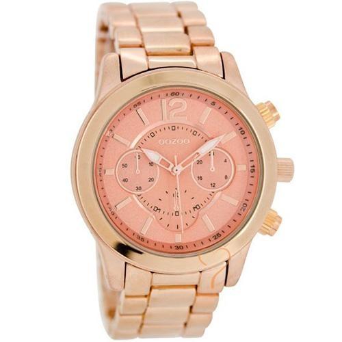 Ρολόι Oozoo Timepieces 40mm RoseGold Dial - RoseGold Bracelet