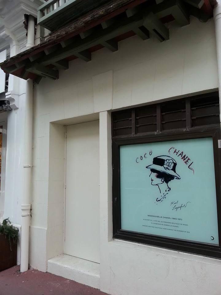 La prima boutique di Coco Chanel, a Deauville - Normandia