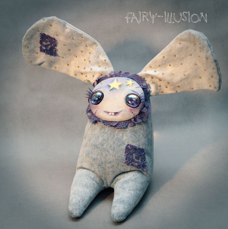 Milky way/Cute and crazy monster doll, a fairy creature from Fairy-Illusion. Handmade, author's doll.