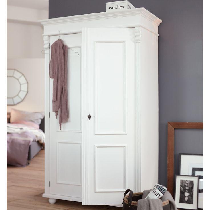 Schlafzimmerschrank weiß landhausstil  Die besten 25+ Kleiderschrank massiv Ideen auf Pinterest | Pax ...