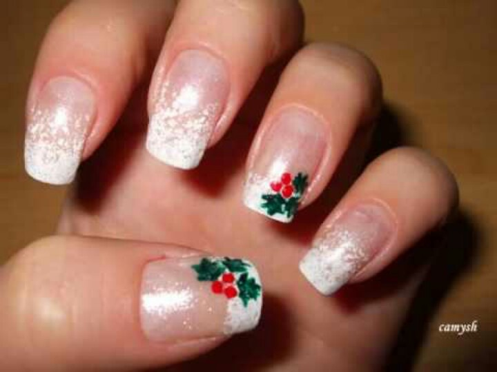 167 best nails images on pinterest nail nail nice nails and manicure ideas for christmas prinsesfo Image collections
