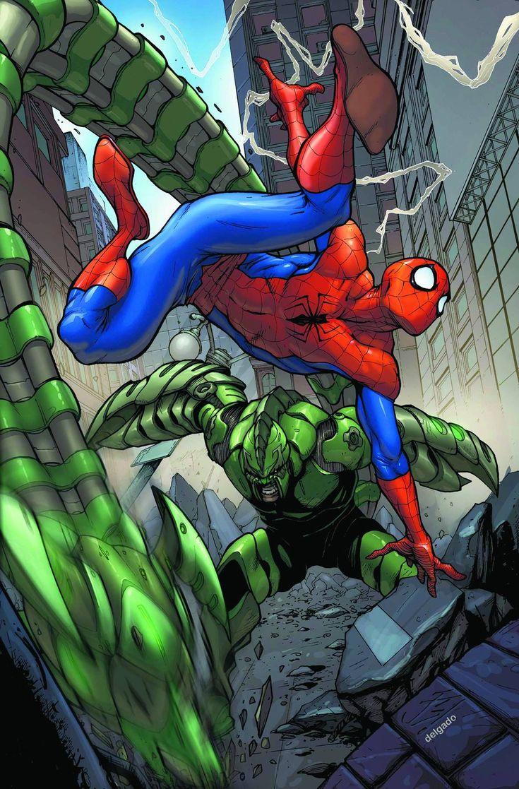 Spiderman VS Scorpion