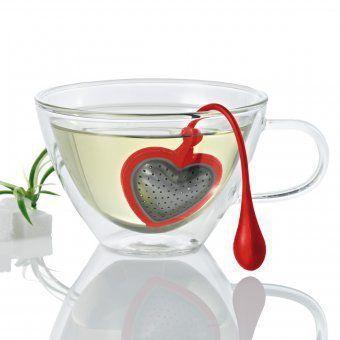 Pin for Later: 50 fabelhafte Geschenkideen unter 25 € für alle Frauen design3000 Tee-Ei Tea Heart Valentins Tee-Ei Tea Heart Valentins design3000 Tee-Ei in Herzform (14 €)