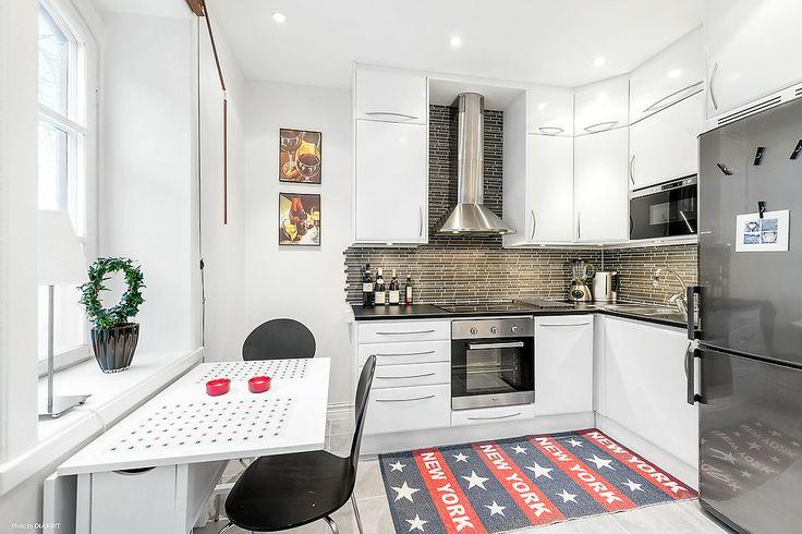 snyggt litet kök